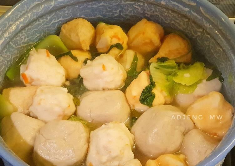 Resep Shabu - Shabu Kaldu Ayam