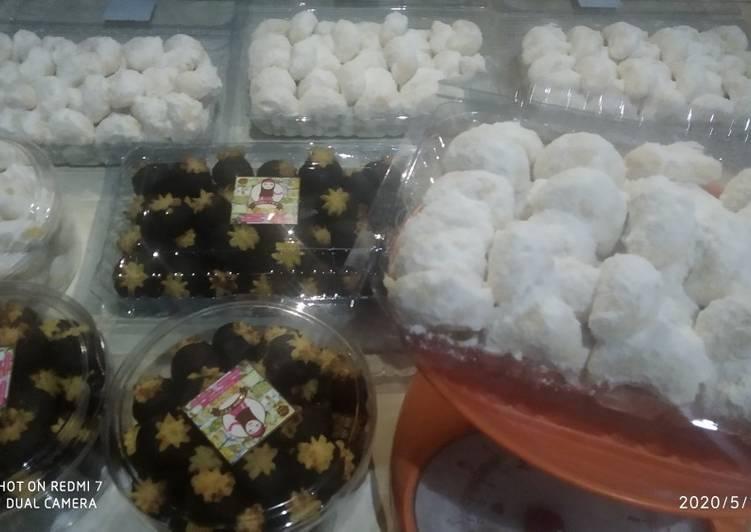Resep Ulat Bolu/Putri Salju Simple
