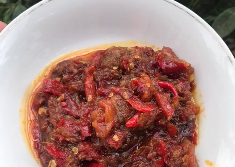 Resep Sambal Terasi Tomat Matang