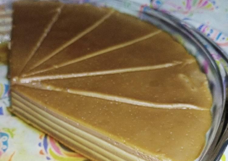 Resep Puding Lapis Custard