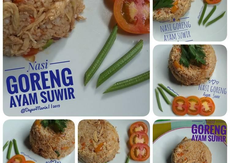 Resep 1Nasi Goreng Ayam Suwir