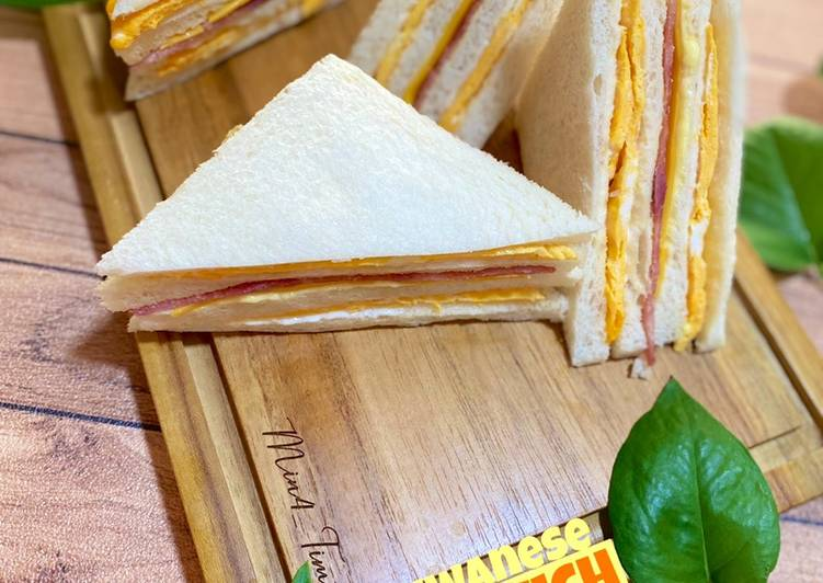 Resep Taiwanese Sandwich