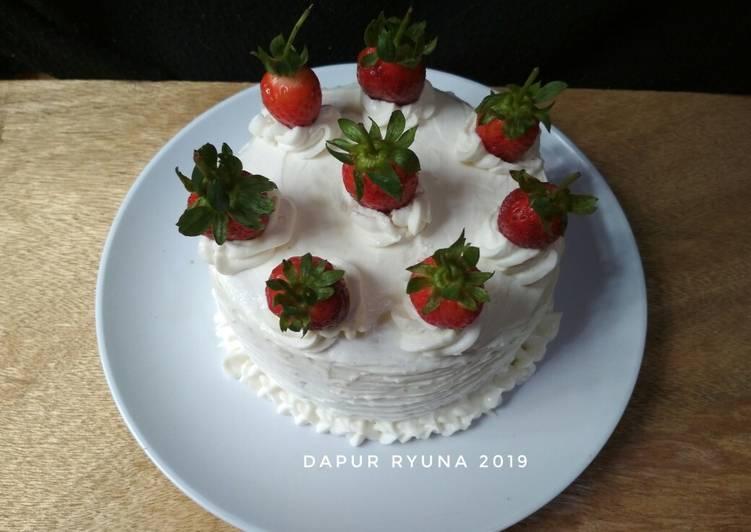 Resep Strawberry Cake