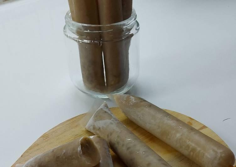 Resep Es Lilin Kolak Kacang Hijau