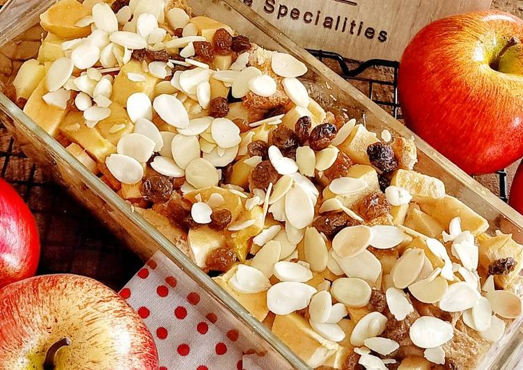 Resep Apple Bread Pudding