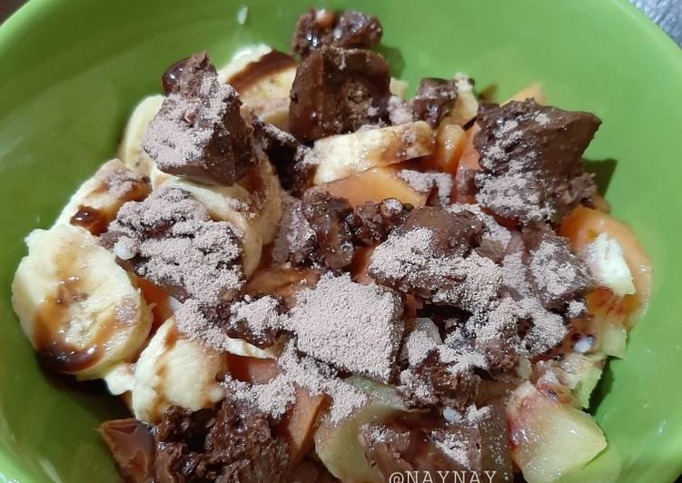 Resep Choco Fruit Yogurt