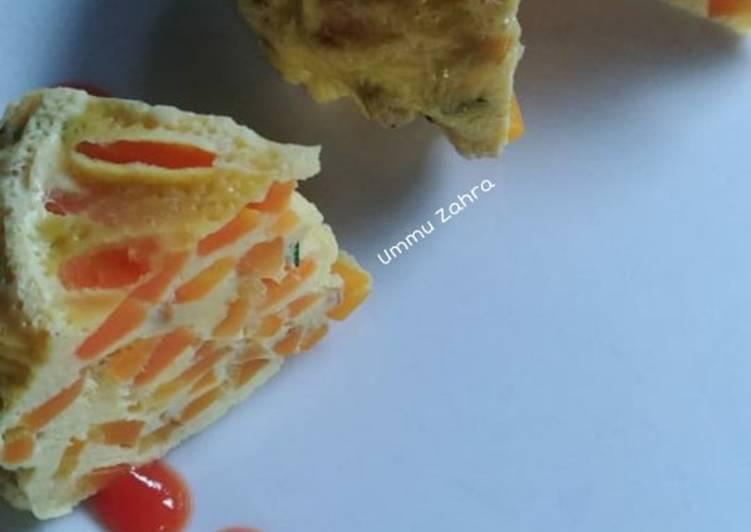 Resep Telur Kukus Wortel