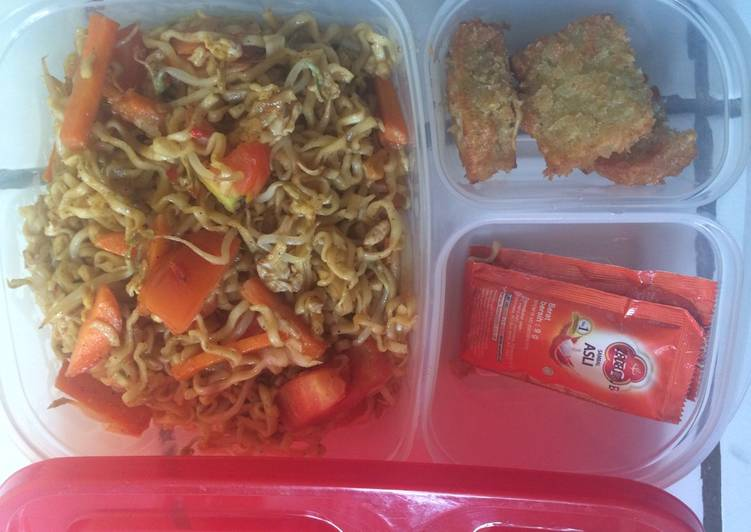 Resep Mie goreng mix sayuran