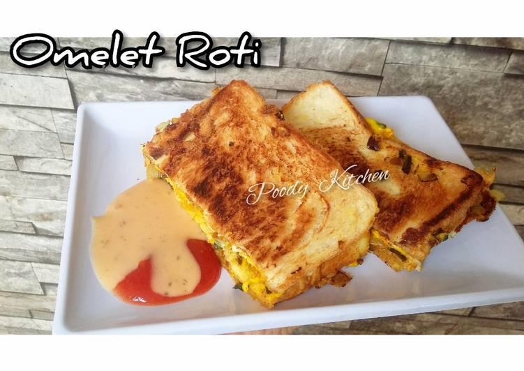 Resep Omelet Roti