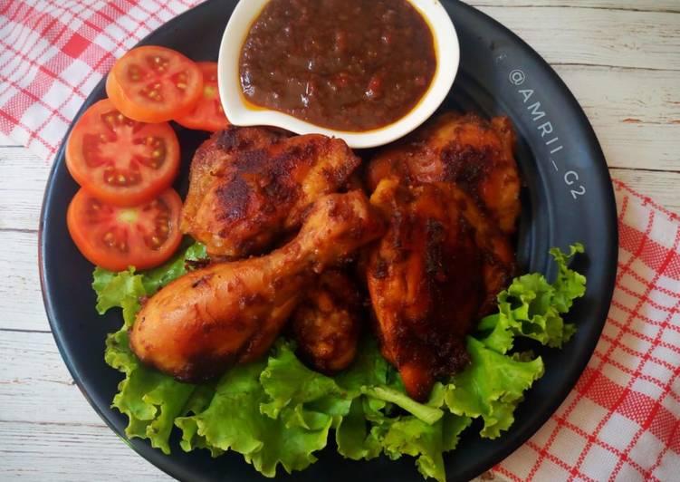 Resep Ayam Bakar Taliwang Teflon