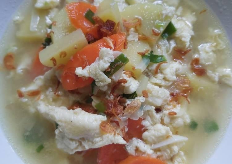 Resep Sup telur