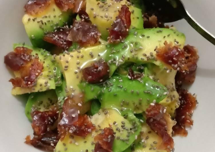 Resep sert Avocado Dates #jsr