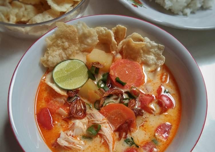 Resep Soto Betawi Ayam Kuah Susu dan Santan