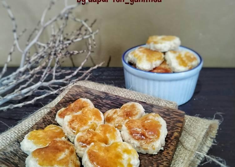 Resep Almond Cookies AKA Kue Kacang Almond
