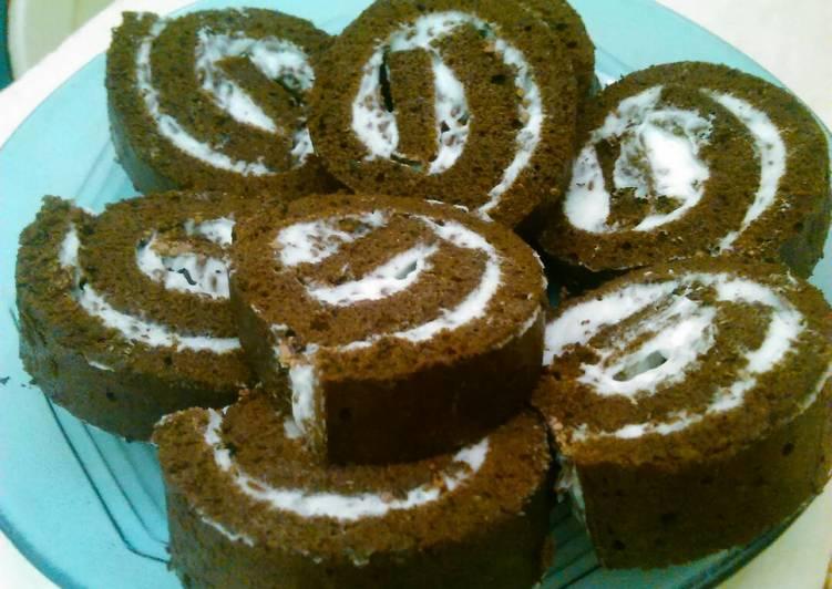 Resep Cake gulung coklat dari putih telur