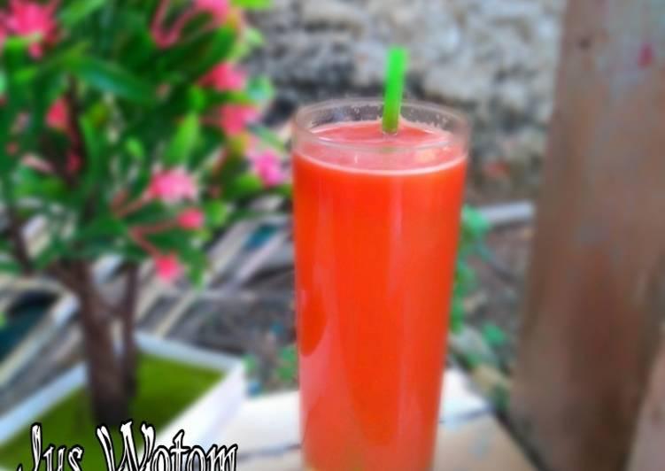 Resep #Jus wortel tomat madu