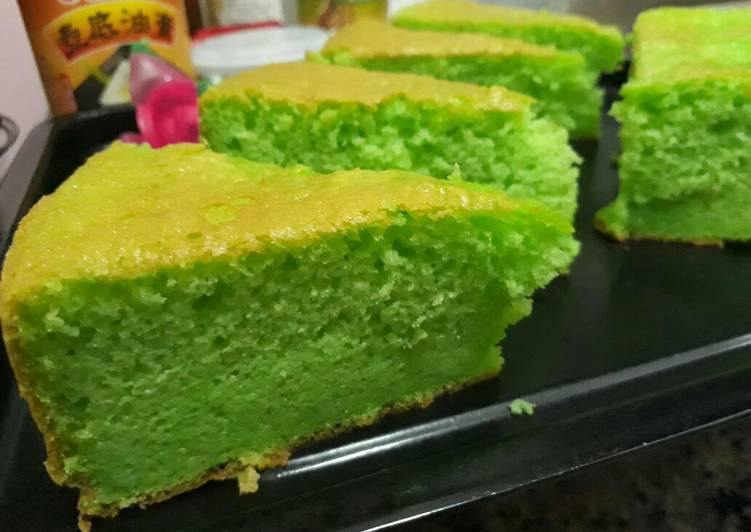 Resep Bolu Pandan Jadul