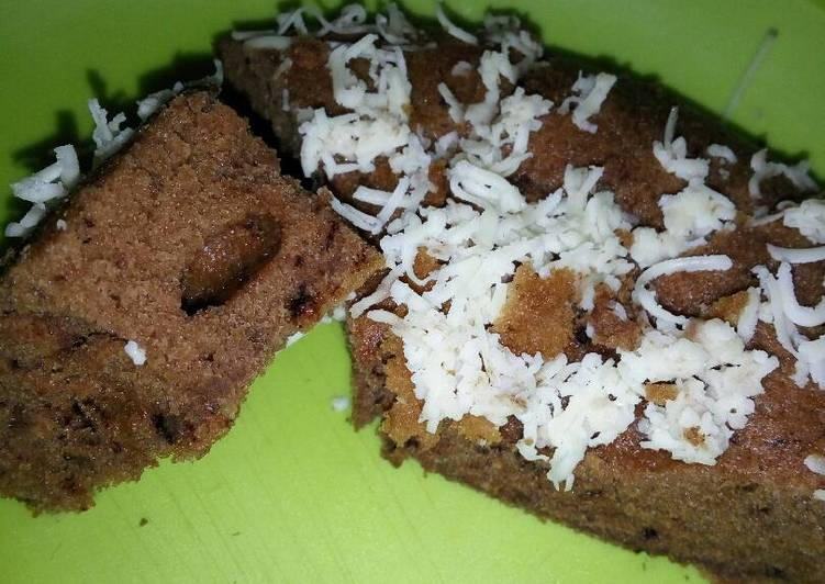 Resep Brownies Kukus Nutella milo no mixer