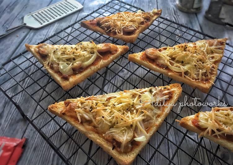 Resep Pizza Roti Tawar