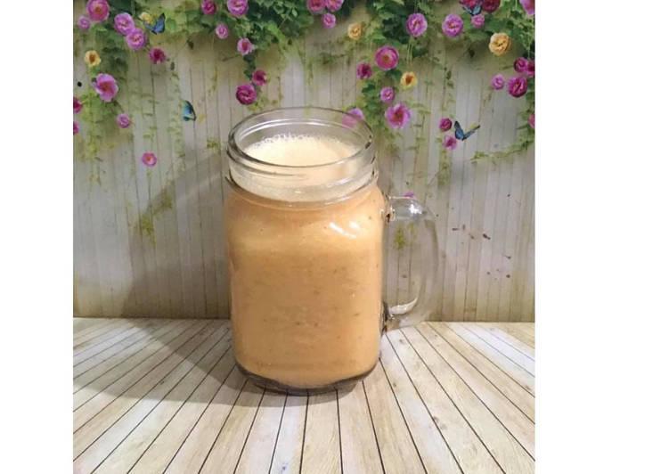 Resep Diet Juice Papaya Lime Mango Almond