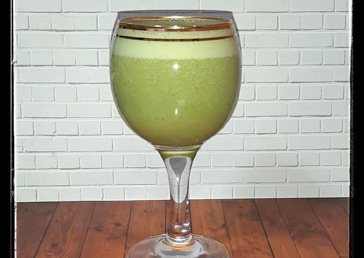 Resep Susu Almond gReen Tea & kuRma