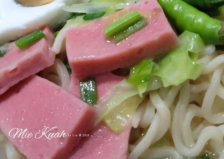 Resep Mie Kuah