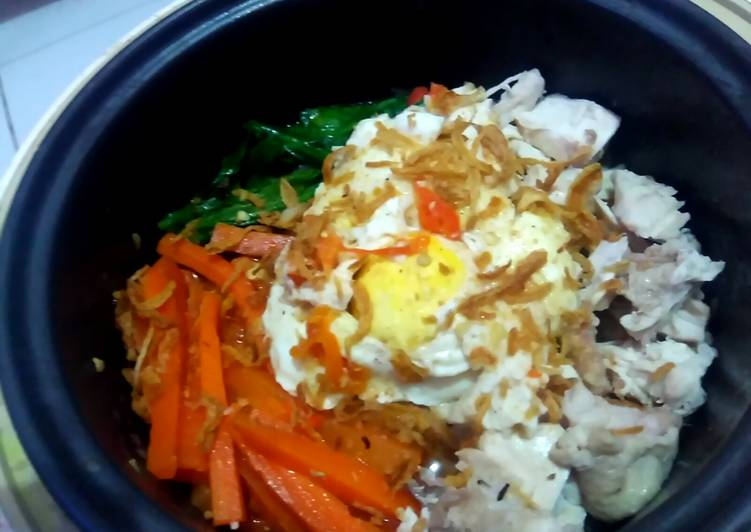 Resep Instan Curry Ramyun with Topping
