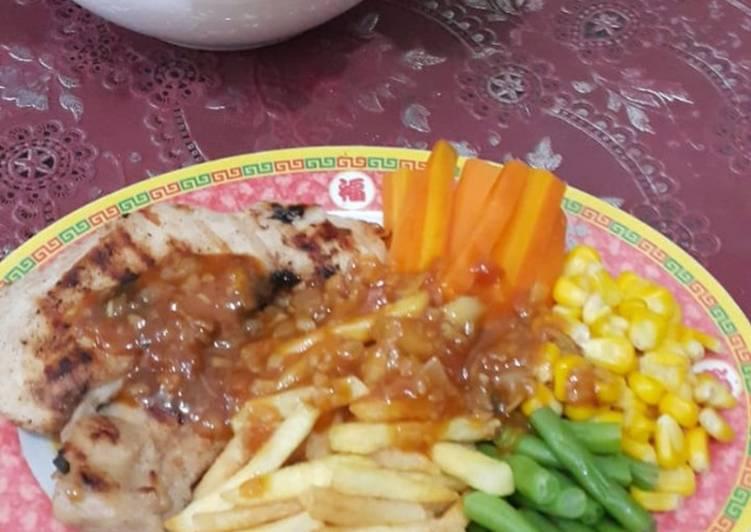 Resep Steak ayam