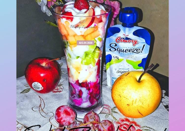 Resep Salad Buah Yogurt Ekonomis