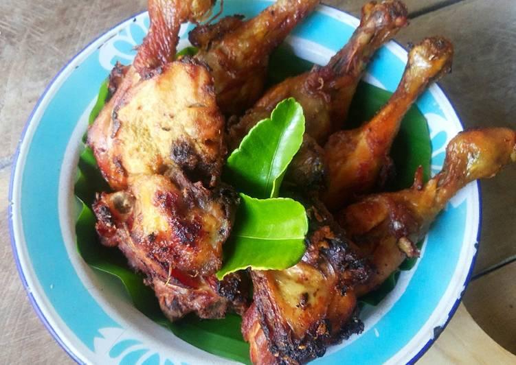 Resep Ayam Goreng Bacem Kuning