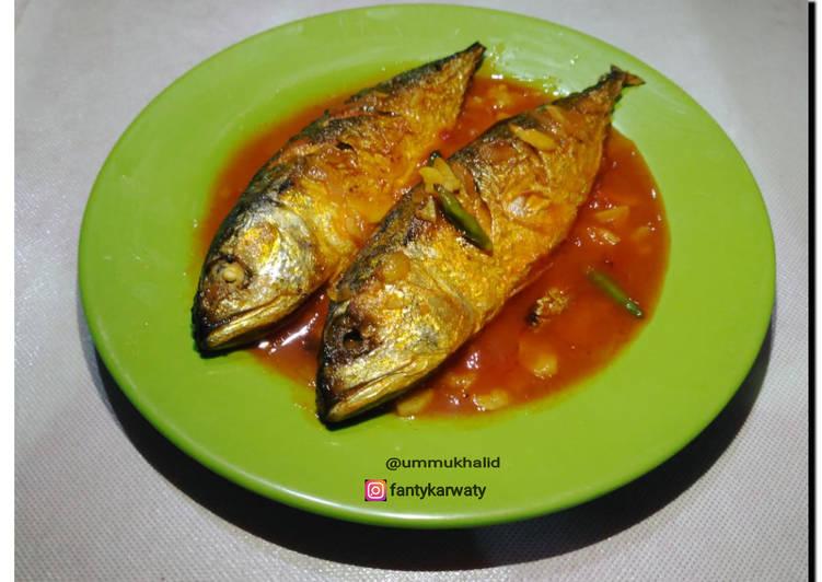Resep Ikan kembung saos sambal