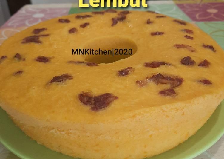 Resep BOLU LABU KUNING LEMBUT (BISA PANGGANG & KUKUS)