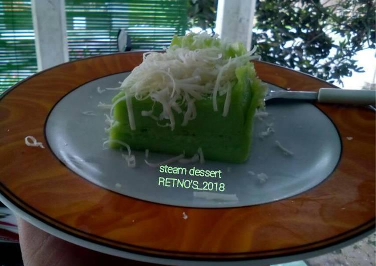 Resep Steam dessert (diet keto/debm)