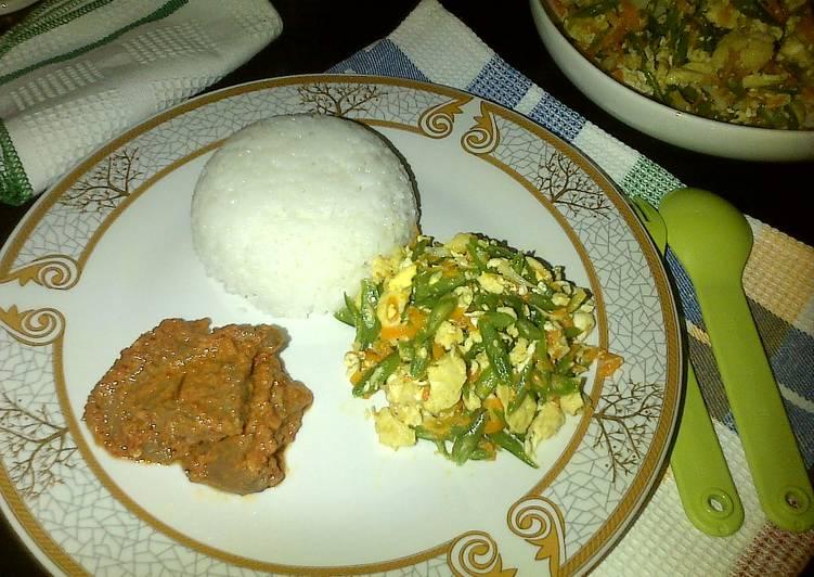 Resep Orak-arik Telur & Sayuran (Sarapan#day2)