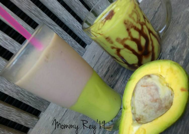 Resep Avocado Coffee /Es Kopi Alpukat