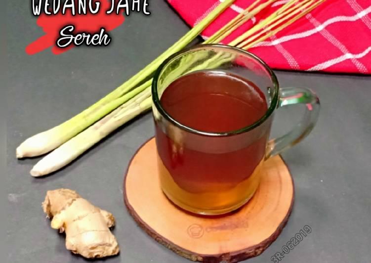 Resep Wedang Jahe Sereh