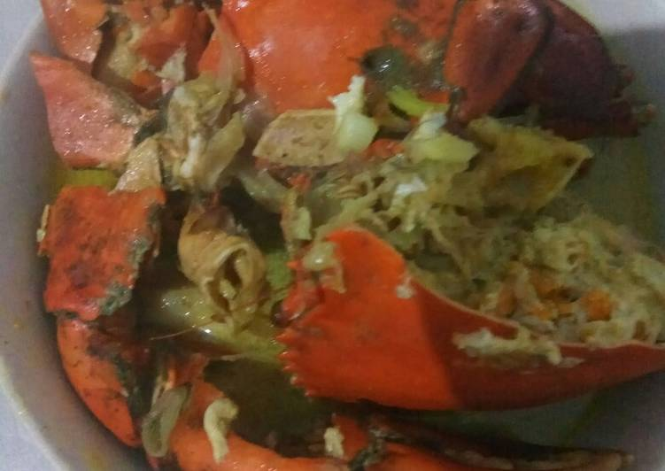 Resep Kepiting bumbu kare