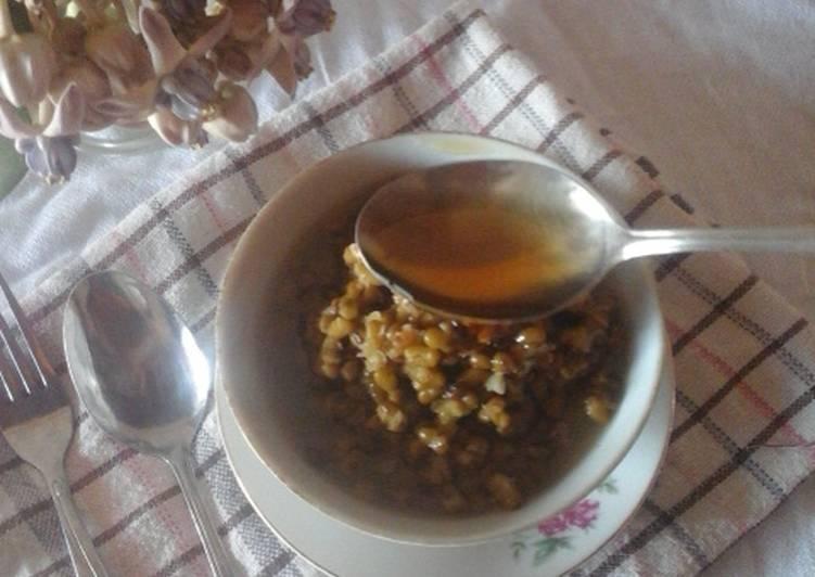 Resep Bubur Mung Bean (Menu Diet)