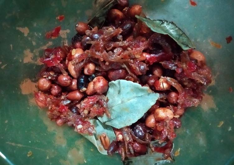Resep Sambel teri kacang