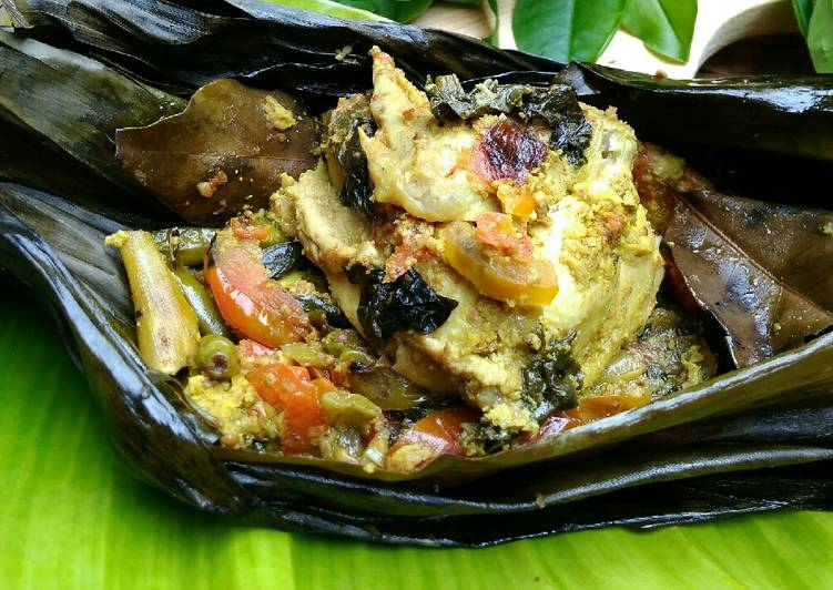 Resep Pepes Ayam Khas Sunda