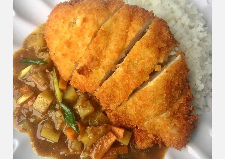 Resep Chicken Katsu Curry Rice #Matsu