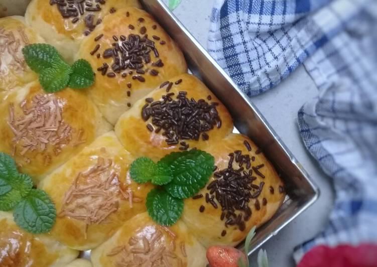 Resep Roti manis sobek (tanpa ulen)