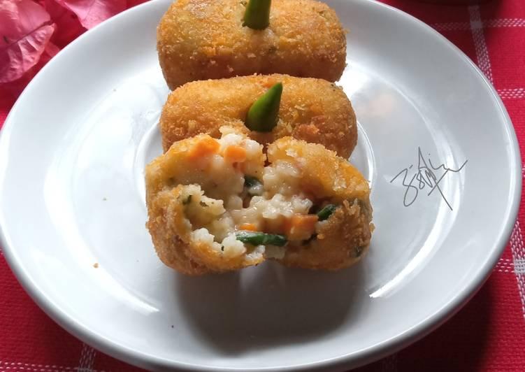 Resep Kroket nasi