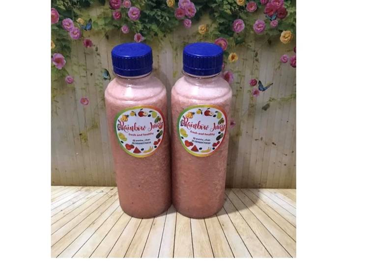 Resep Diet Juice Grape Kiwi Star Fruit Watermelon