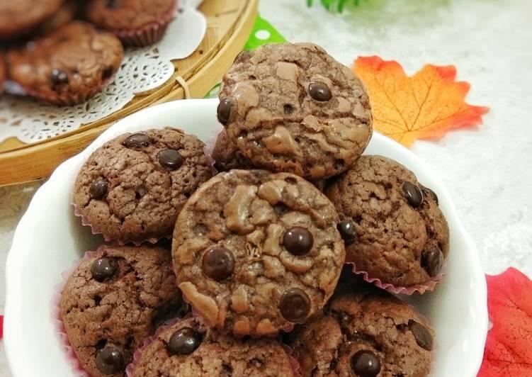 Resep Brownies Crispy Cookies
