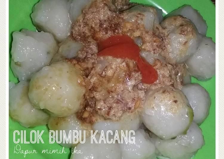 Resep Cilok bumbu kacang imut simple