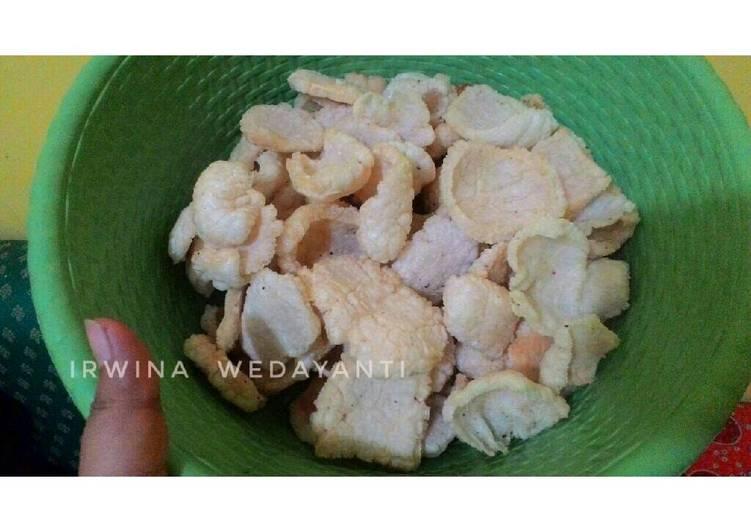 Resep Kerupuk Nasi (Rice Chips)