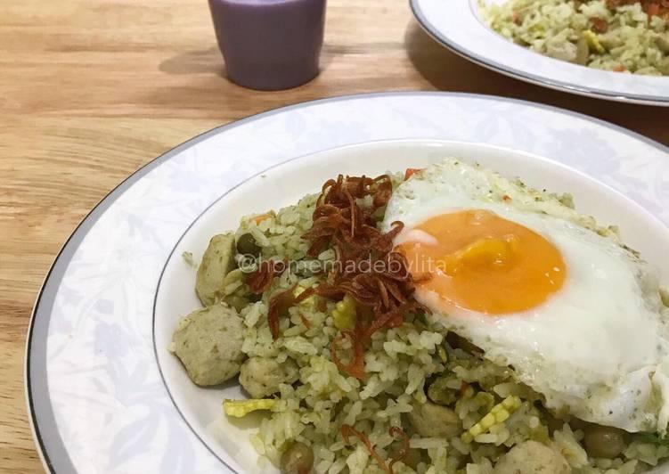 Resep Nasi goreng sambal ijo (dan resep sambal ijo enak) #homemadebylita
