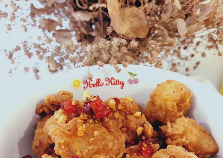 Resep Ayam Cabe Garam