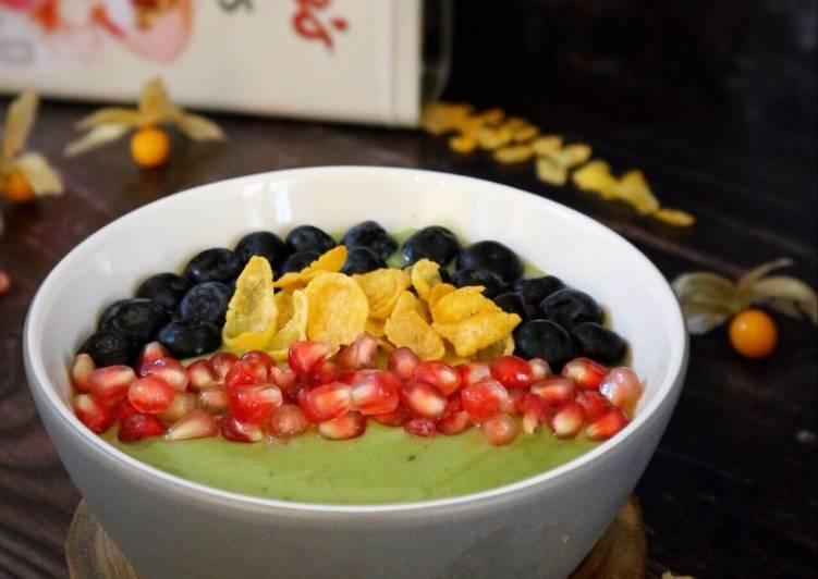Resep Avocado Bowl (coffee taste)